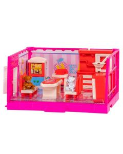 Casinha Happy Family Havan - HBR0146 - Rosa