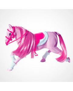 Cavalo Fashion com Acessórios Líder Brinquedos - Rosa