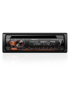 CD Player Pioneer DEH-S4180BT com Bluetooth AM/FM/USB - 1 DIN