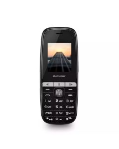 Celular Dual Chip Up Play Multilaser - Preto
