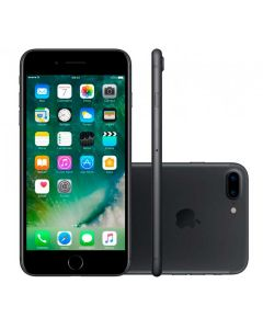 "Celular iPhone 7 Plus 128 GB Single Chip Tela 5,5"" - Apple - PRETO MATTE"