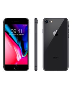"Celular iPhone 8 64GB Single Chip Tela 4,7"" Apple - Cinza Espacial"