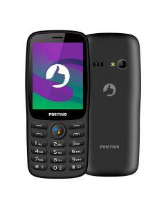 """Celular P70S com WhatsApp 512MB 2,8"""" Positivo - Preto"""
