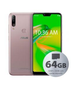 "Celular Smartphone Asus Zenfone Max Shot 6,2"" 32Gb + 32Gb - Prata"