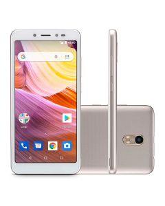 Celular Smartphone Dual Chip Multilaser MS50G - Branco