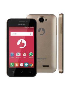 Celular Smartphone Dual Chip Positivo One S420 - DOURADO