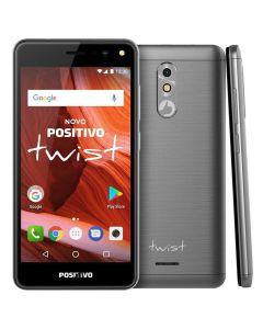 Celular Smartphone Dual Chip Positivo Twist S511 - Cinza