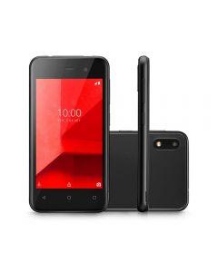 "Celular Smartphone E Lite 16GB 4"" Multilaser - Preto"