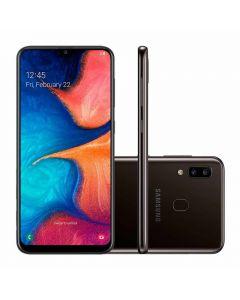 """Celular Smartphone Galaxy A20 Dual Chip 6,4"""" Samsung - Preto"""