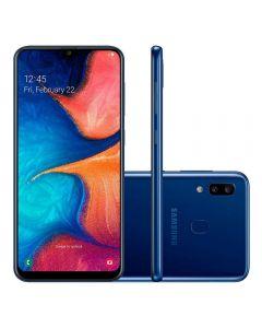 "Celular Smartphone Galaxy A20 Dual Chip 6,4"" Samsung - Azul"