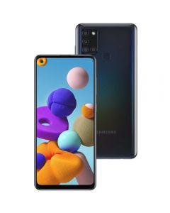 "Celular Smartphone Galaxy A21s 64Gb 6,5"" Samsung - Preto"