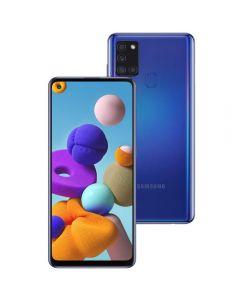 "Celular Smartphone Galaxy A21s 64Gb 6,5"" Samsung - Azul"