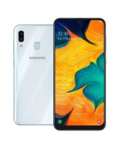 "Celular Smartphone Galaxy A30 Dual Chip 6,4"" Samsung - Branco"