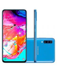"Celular Smartphone Galaxy A70 128GB 6,7"" Samsung - Azul"