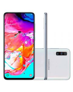 "Celular Smartphone Galaxy A70 128GB 6,7"" Samsung - Branco"