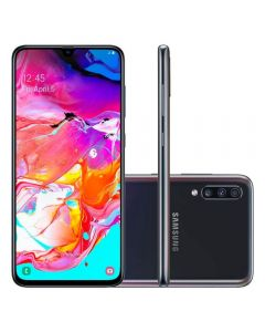 """Celular Smartphone Galaxy A70 Dual Chip 6,7"""" Samsung - Preto"""