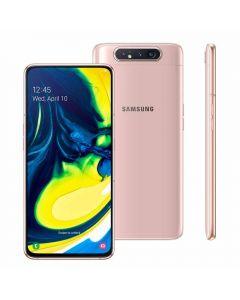 """Celular Smartphone Galaxy A80 6,7"""" 128GB Samsung - Rosê"""