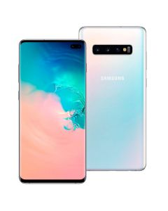 "Celular Smartphone Galaxy S10+ G975F Dual Chip 6,4"" 128GB Samsung - Branco"