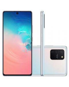 "Celular Smartphone Galaxy S10 Lite 128Gb 6,7"" Samsung - Branco"