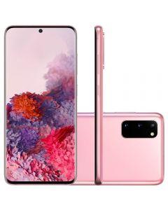 "Celular Smartphone Galaxy S20 6,2"" 128GB Samsung - Rosa"