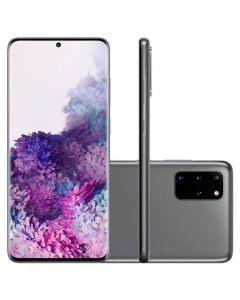 "Celular Smartphone Galaxy S20+ 6,7"" 128GB Samsung - Cinza"