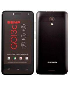 """Celular Smartphone Go! 3C Dual Chip 4"""" SEMP - Preto"""