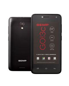 "Celular Smartphone GO! 3c Plus 4"" 8GB SEMP - Preto"