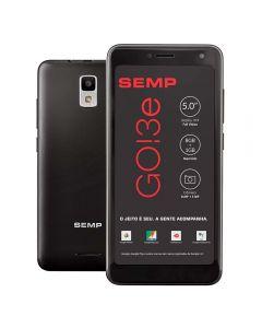 """Celular Smartphone GO!3e Dual Chip 5"""" SEMP - Preto"""