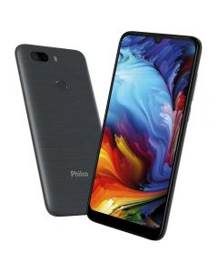 "Celular Smartphone Hit Max Pcs02 6"" 128Gb Philco - Cinza"