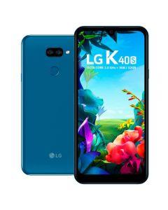 "Celular Smartphone K40s 32GB 6,1"" LG - Azul"