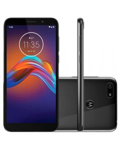"Celular Smartphone Moto E6 Play 32GB 5,5"" Motorola - Cinza"