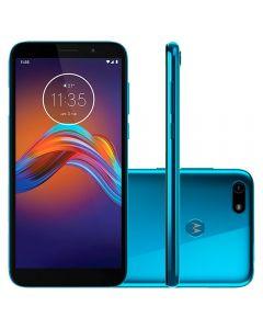 """Celular Smartphone Moto E6 Play 32GB 5,5"""" Motorola - Azul"""