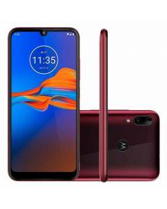 "Celular Smartphone Moto E6 Plus 6,1"" 32GB Motorola - Rubi"