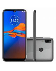"Celular Smartphone Moto E6 Plus 6,1"" 64GB Motorola - Cinza"