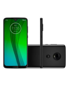 "Celular Smartphone Moto G7 Ônix Dual Chip 6,24"" Motorola - Preto"