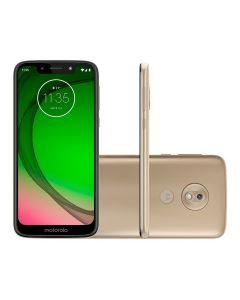 """Celular Smartphone Moto G7 Play 5,7"""" Dual Chip Motorola - Dourado"""