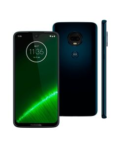 Celular Smartphone Moto G7 Plus Motorola Dual Câmera - Indigo