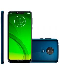 "Celular Smartphone Moto G7 Power 64GB 6,2"" Motorola - Azul Navy"