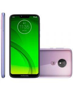 "Celular Smartphone Moto G7 Power 64GB 6,2"" Motorola - Lilac"
