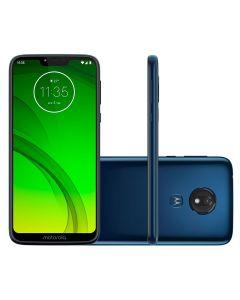 Celular Smartphone Moto G7 Power Motorola Dual Chip - Azul Navy