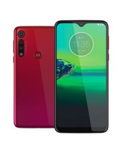 "Celular Smartphone Moto G8 Play 32GB 6,2"" Motorola - Magenta"