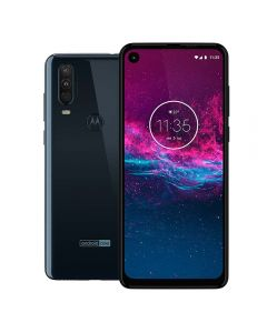 "Celular Smartphone Moto One Action 128GB 6,34"" Motorola - Azul Denim"