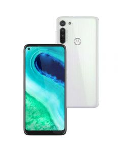 "Celular Smartphone Motorola Moto G8 64GB 6,4"" - Branco"