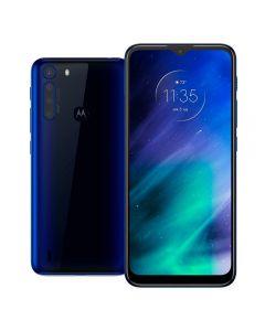"Celular Smartphone Motorola One Fusion 6,5"" 128Gb - Azul"