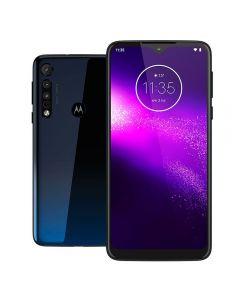 "Celular Smartphone MotorolaOne Macro 6,2"" 64GB - Azul"