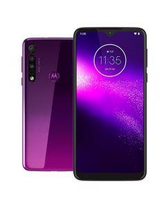 "Celular Smartphone MotorolaOne Macro 6,2"" 64GB - Violeta"