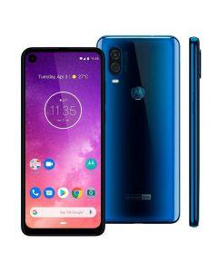"""Celular Smartphone Motorola One Vision 6,3"""" Dual Chip - Azul"""
