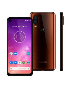 "Celular Smartphone Motorola One Vision 6,3"" Dual Chip - Bronze"
