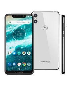 Celular Smartphone MotorolaOne Dual Chip 5,9'' - Branco