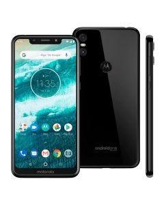 Celular Smartphone MotorolaOne Dual Chip 5,9'' - Preto